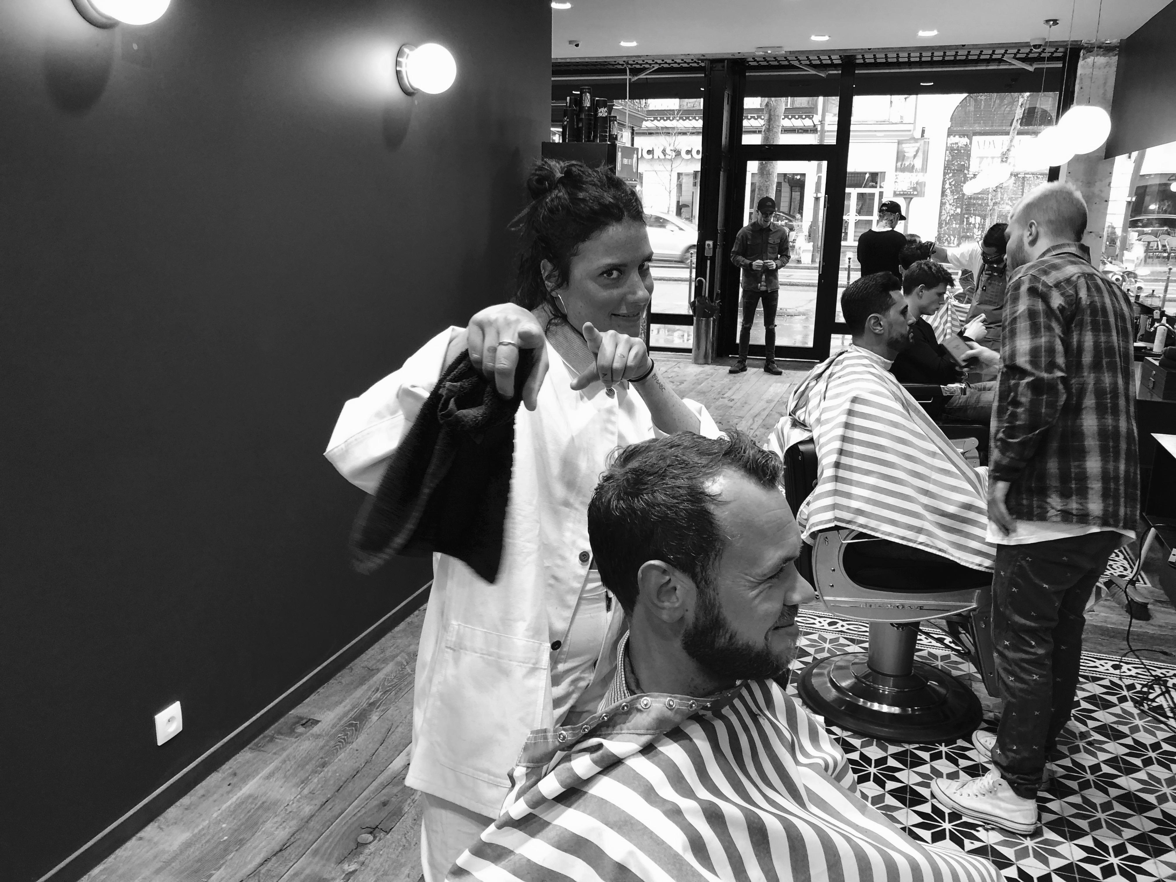 Sabrina Les Garçons Barbiers Coiffeur Barbier Paris